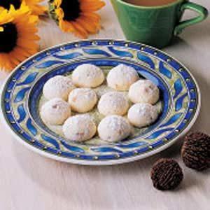 Black Walnut Butter Cookies