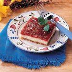 Rhubarb Cheesecake Dessert