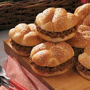 All-American Barbecue Sandwiches