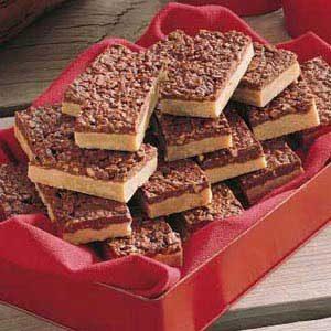 Crunchy Peanut Butter Bars