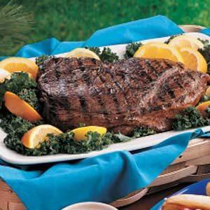 Citrus Sirloin Steak