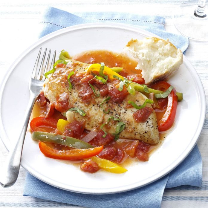 Healthy Tuscan Chicken