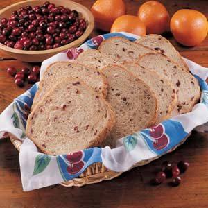 Cranberry Yeast Bread