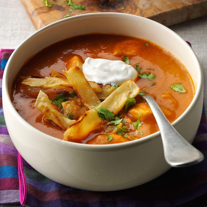 Inspired by: Chicken Tortilla Soup