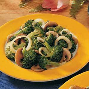 Broccoli-Mushroom Medley