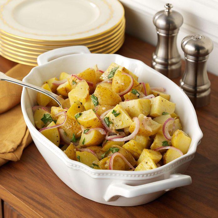 Lemon-Basil Roasted Potatoes