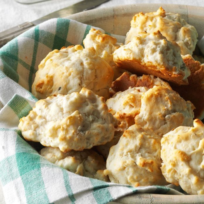 Onion & Garlic Biscuits