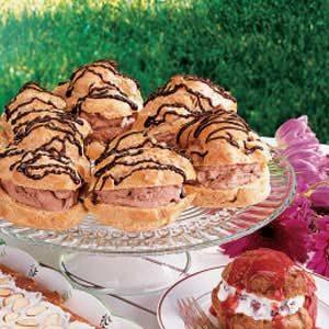 Chocolate-Filled Cream Puffs