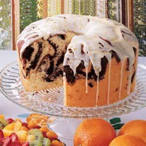 Moist Marble Chiffon Cake