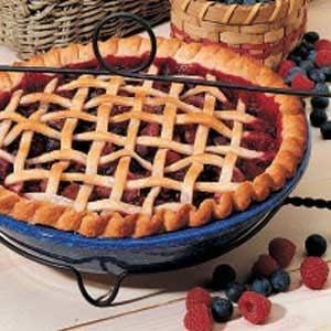 Triple Fruit Pie