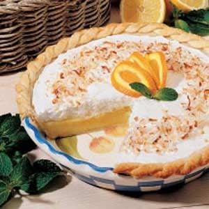 Frosted Orange Pie
