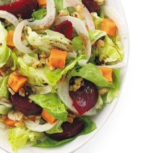 Roasted Beet and Sweet Potato Salad