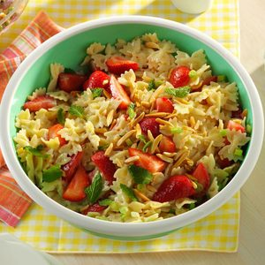 Strawberry Pasta Salad