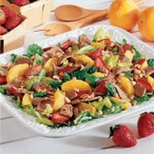 Summer Salad with Citrus Vinaigrette