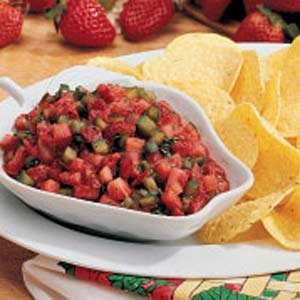 Contest-Winning Strawberry Salsa