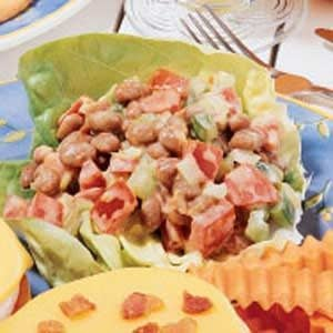 Pork 'n' Bean Salad