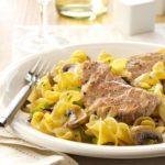 Pork Scallopini with Mushrooms