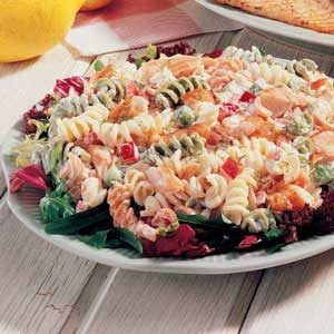 Dilled Salmon Pasta Salad