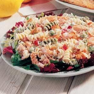 Dilled Salmon Pasta Salad