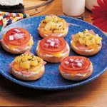 Ham and Cheese Bagels