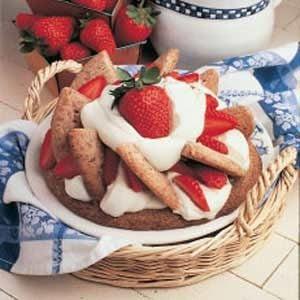 Strawberry Shortbread Shortcake
