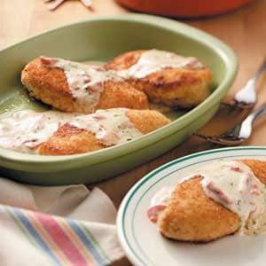 Chicken in Basil Cream
