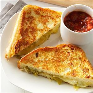 Chiles Rellenos Sandwiches