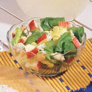 Apple-Nut Tossed Salad