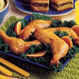 Orange Honey Chicken