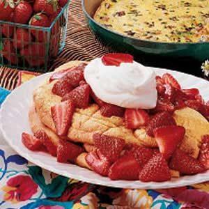Puffy Dessert Omelet