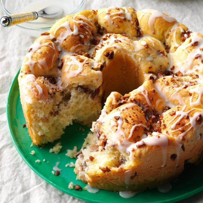Tennessee: Apple Pull-Apart Bread