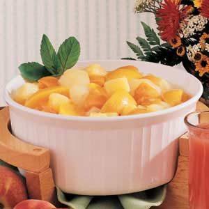 Spiced Hot Fruit