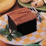 Banana Fudge Cake