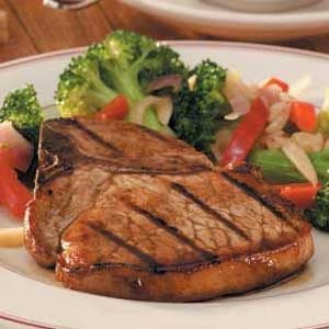 Tangy Grilled Pork Chops