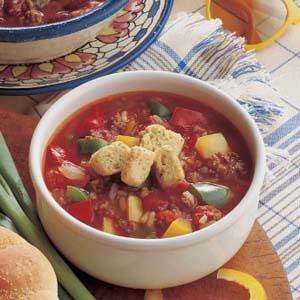 Stuffed Roast Pepper Soup