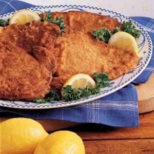 Honey-Mustard Pork Scallopini