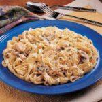 Chicken Mushroom Fettuccine
