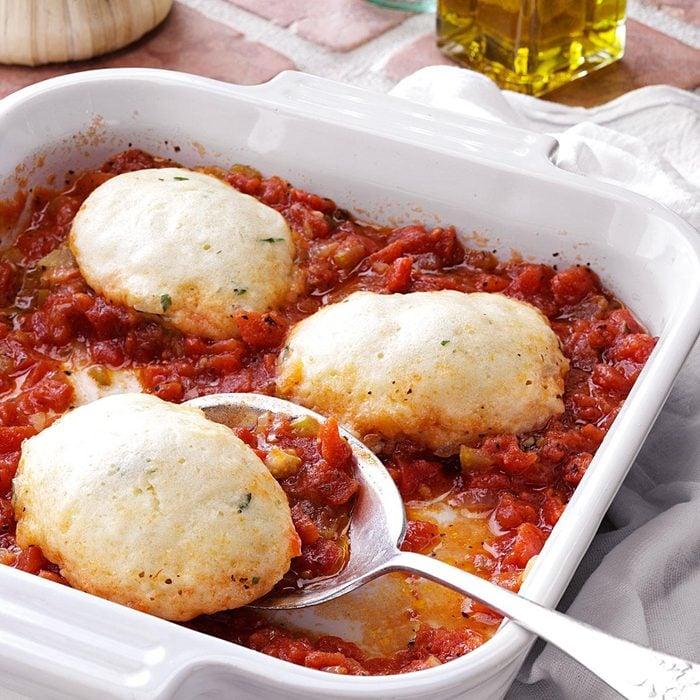 Tomato Dumplings