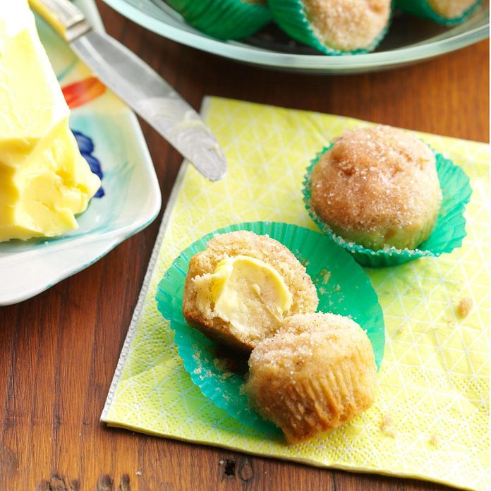 Then Make: Applesauce Mini Muffins