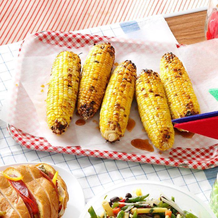 Smokin' Spiced Corn