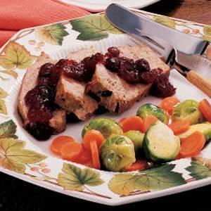 Cranberry Turkey Loaf