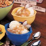 Apple Cider Sundaes