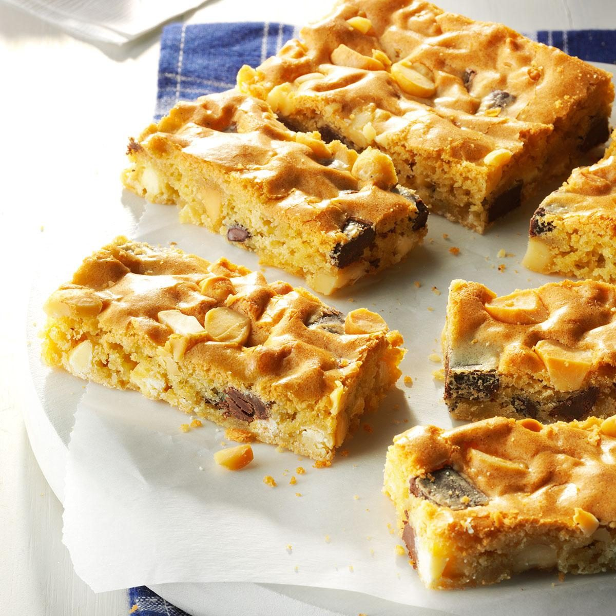 Chunky Blond Brownies