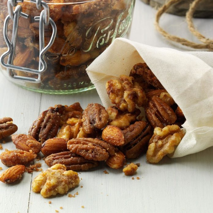 Slow Cooker Candied Nuts