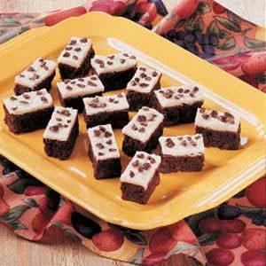 Dark Chocolate Mocha Brownies