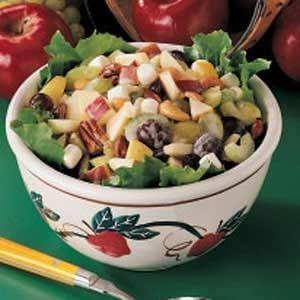 Nutty Apple Salad