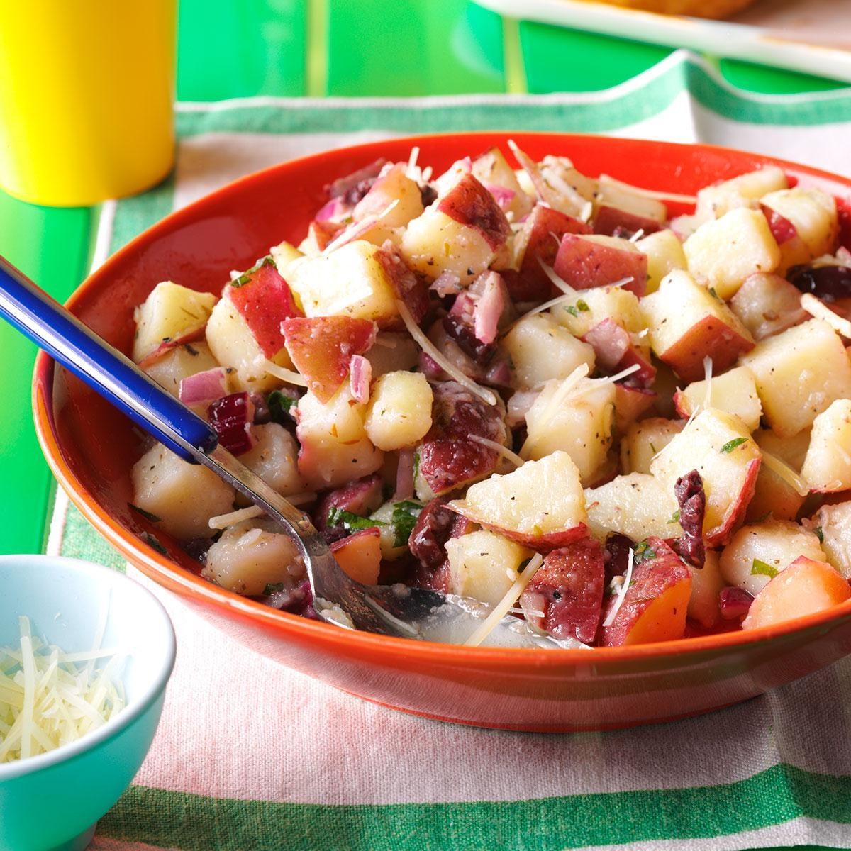 Red Potato Salad with Lemony Vinaigrette