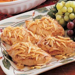 Almond-Topped Chicken