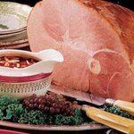 Ham with Almond Cherry Sacue