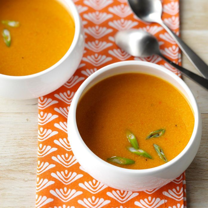 Day 12: Sweet Potato Soup